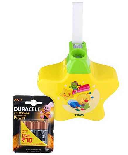 Funskool Be Baby Starlight Dreamshow and  Duracell AA Batteries - Pack Of 4