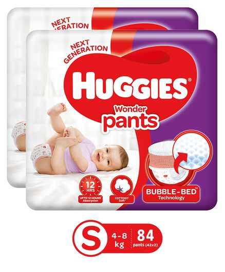 Huggies Wonder Pants Small Pant Style Diapers - 42 Pieces Of 2