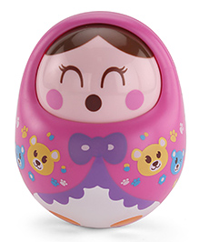 Sunny Tumbler Roly Poly Doll - Pink