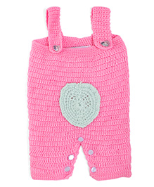 Rich Handknits Winter Wear Romper - Pink