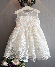 Cherubbaby Angelic  Dress - White