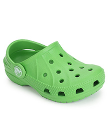 Crocs Ralen Clogs With Back Strap - Green