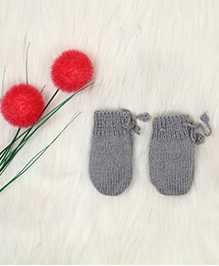 The Original Knit Pretty Mittens - Grey
