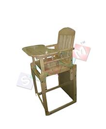 Sohum Convertible High Chair Deco - Green