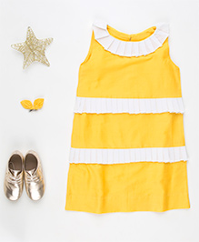 MilkTeeth Kringle Dress - Yellow