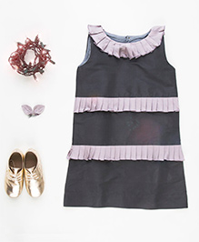 MilkTeeth Kringle Dress - Grey