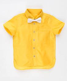 MilkTeeth Tinsel Shirt - Yellow