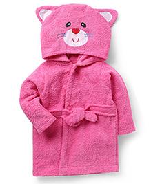Wonderchild Cat Bath Robe - Pink