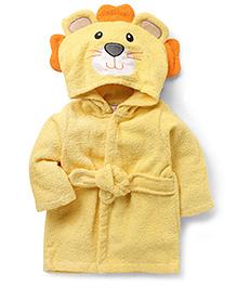 Wonderchild Lion Bath Robe - Yellow