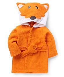 Wonderchild Fox Bath Robe - Orange
