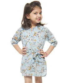 M'andy Shirt Dress - Blue