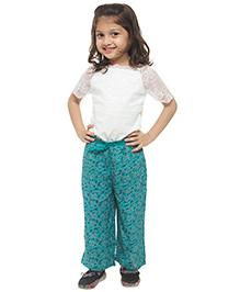 M'andy Printed Pajama - Blue