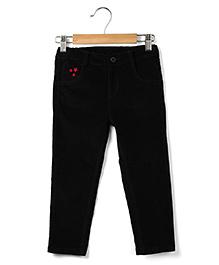 Beebay Corduroy Trouser - Black