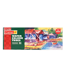Camel Water Color Tubes - 18 Shades