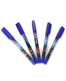 Camlin Exam Gel Pen Blue Pack Of 5 - 14 Cm