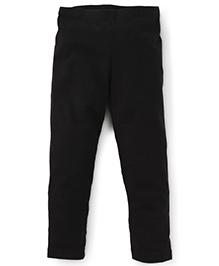 Beebay Full Length Solid Colour Leggings - Black