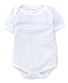 Playbeez Striped Onesie - Blue