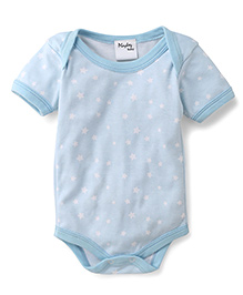 Playbeez Star Print Onesie - Blue