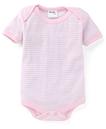 Playbeez Stylish Striped Onesie - Pink