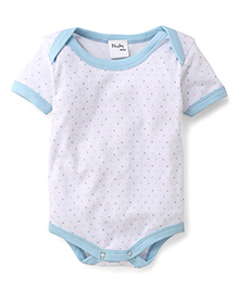 Playbeez Polka Dot Print Onesie - Multi Color