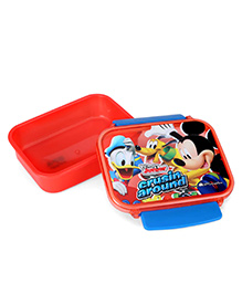 Disney Mickey Mouse Lunch Box - Red