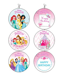 Disney Princess Danglers - Pack Of 6