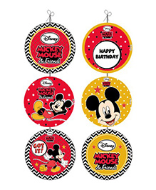 Disney Mickey Mouse Danglers - Red And Yellow