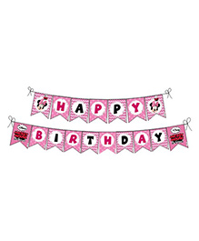 Disney Minnie Mouse Happy Birthday Banner