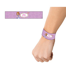 Disney Sofia The First Enchanted Garden Party Wrist Bands - Pack Of 10