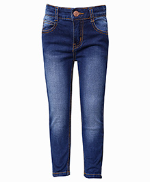 Tales & Stories Full Length Denim Jeans - Dark Blue