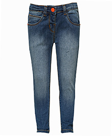 Tales & Stories Full Length Jeans - Blue