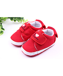 Alle Alle Shoes Style Booties - Red