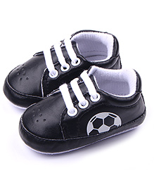 Alle Alle Shoes Style Booties Football Design - Black