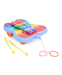 Ratnas Xylophone Butterfly Design - Multi Color