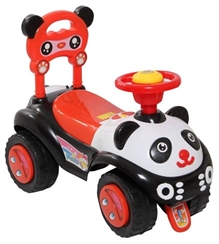 Black N Red Carry Capacity Upto 20 Kg, Manual Push Ride-on For Your Little One, Great...