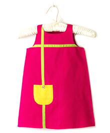 Nitallys A- Line Dress - Pink
