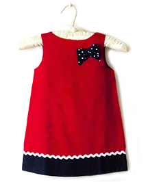 Nitallys A-Line Dress - Red