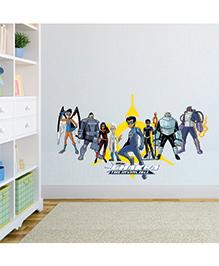 Chipakk Chakra The Invincible Wall Sticker Multi Color - Medium
