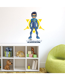 Chipakk Chakra The Invincible Wall Sticker Blue & Yellow - Medium - 1013048