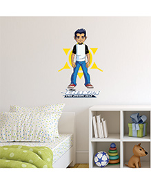 Chipakk Chakra The Invincible Raju With Chakra Wall Sticker Multi Color - Medium