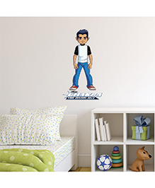 Chipakk Chakra The Invincible Raju Wall Sticker Multi Color - Medium