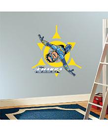 Chipakk Chakra The Invincible Wall Sticker Blue & Yellow - Medium - 1013060