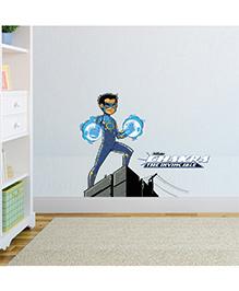 Chipakk Chakra The Invincible Wall Sticker Blue & Grey - Medium