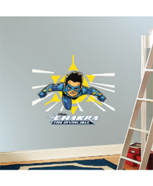 Chipakk Chakra The Invincible Wall Sticker Blue & Yellow - Medium - 1013064