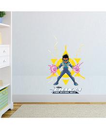 Chipakk Chakra The Invincible Wall Sticker Blue Yellow Pink - Medium