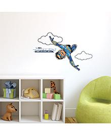 Chipakk Chakra The Invincible Wall Sticker Blue - Medium - 1013067