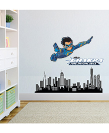Chipakk Chakra The Invincible Wall Sticker Blue - Medium - 1013074