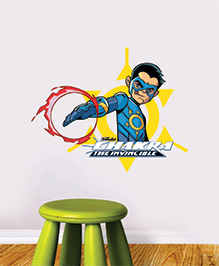 Chipakk Chakra The Invincible Wall Sticker Blue Yellow Red - Medium
