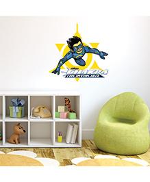 Chipakk Chakra The Invincible Wall Sticker Blue & Yellow - Medium - 1013077
