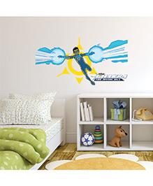 Chipakk Chakra The Invincible Wall Sticker Blue & Yellow - Medium - 1013082